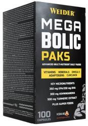 Weider Megabolic Paks 100 caps