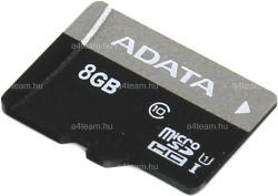 ADATA MicroSDHC 8GB Class 10 AUSDH8GUICL10-R