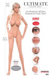 Pipedream Extreme Toyz - Ultimate Fantasy Dolls - Kitty (168cm) szexbaba