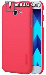 Nillkin műanyag védő tok / hátlap - PIROS - képernyővédő fólia - SAMSUNG SM-A720F Galaxy A7 (2017)