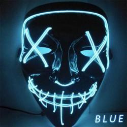 The Purge - A bűn éjszakája LED világító maszk - több színben