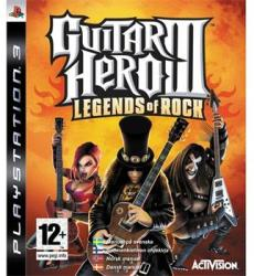 Activision Guitar Hero III Legends of Rock (PS3)