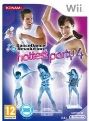 Konami Dance Dance Revolution Hottest Party 4 (Wii)