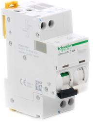 Schneider Intrerupator automat diferential 1P+N, 30mA, 16A/C, 4.5KA, iDPNa (A9D34616)