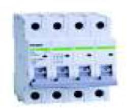 Noark Siguranta automata tetrapolara 4.5 kA 25A C Noark (102186)