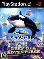 Activision SeaWorld Shamu's Deep Sea Adventures (PS2)