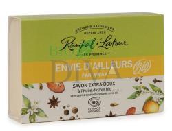 Rampal Latour Săpun bio cu migdale și flori de portocal Envie D'ailleurs Rampal Latour 100-g