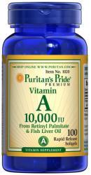 Puritan's Pride Vitamin A 10000IU 100 Softgels