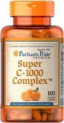 Puritan's Pride Super C-1000 Complex 100 Caplets