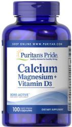 Puritan's Pride Calcium Magnesium+Vitamin D3 100 Capsules