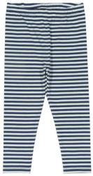 Kite Pantaloni pentru fetițe din jerseu moale de bumbac organic, Mini stripy leggings