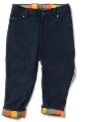 Little Green Radicals Pantaloni reiat unisex, căptușeală fleece, bleumarin