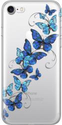 Lemontti Husa iPhone 8 / 7 Lemontti Silicon Art Butterflies (LEMHSP7BT)