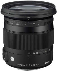 SIGMA 17-70mm f/2.8-4 DC Macro OS HSM (Nikon)