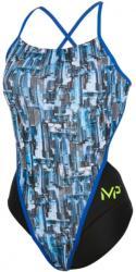 Michael Phelps city open back multicolor/black 26 Costum de baie dama