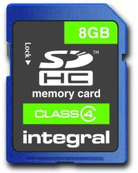 Integral SDHC 8GB Class 4 INSDH8G4V2