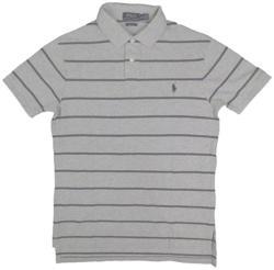 Ralph Lauren Custom Fit T-Shirt (Szürke, M)