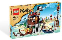 LEGO Pirates - Hajótöröttek búvóhelye (6253)
