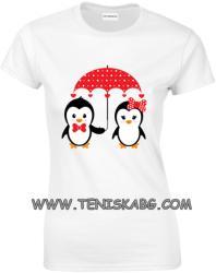 Montecarlo - ROLY Закачлива тениска - пингвини