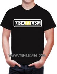 Fruit of the Loom Тениска с надпис - Brazzers