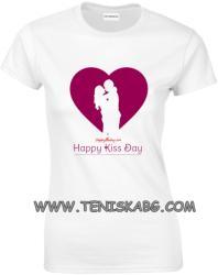 Montecarlo - ROLY Закачлива тениска - Happy kiss day!