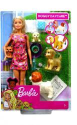 Mattel Barbi kutyusos napközi játékszett