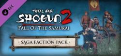 SEGA Total War Shogun 2 Fall of the Samurai Saga Faction Pack DLC (PC)