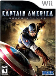 SEGA Captain America Super Soldier (Wii)