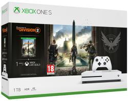 Microsoft Xbox One S (Slim) 1TB + Tom Clancy's The Division 2