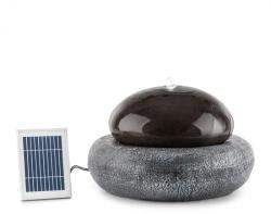 Blumfeldt Ocean Planet, fântână solară, 200 l/h, panou solar, acumulator de 2W, LED polireresină (SOL1-Ocean Planet)