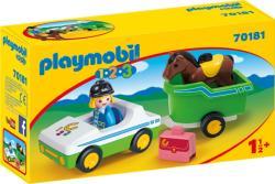 Playmobil Autó lószállítóval (70181)