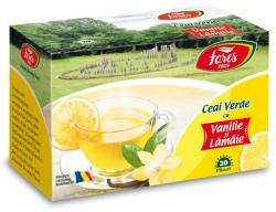 Fares Ceai Verde cu Lamaie si Vanilie 20 plicuri