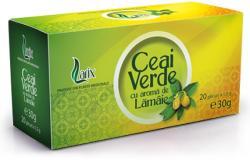 Larix Ceai verde cu lamaie 20 plicuri