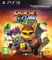 Sony Ratchet & Clank All 4 One (PS3)
