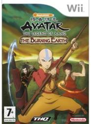THQ Avatar The Legend of Aang The Burning Earth (Wii)