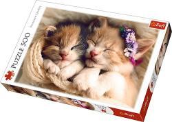 Trefl Pisici care dorm - 500 bucăţi (37271)