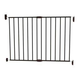 Noma Poarta de siguranta extensibila Noma, 62 - 102 cm, metal negru, N93330 (abi_n93330)