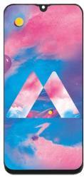 NBA001LCD003933 Gyári Samsung Galaxy M30 fekete LCD kijelző érintővel