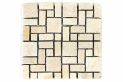 Divero Márvány mozaik DIVERO - bézs - idilego