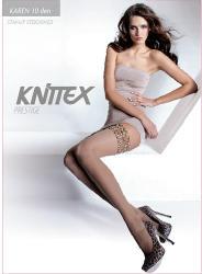 Knittex Ciorapi dama cu banda silicon Karen 10 den