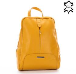 Lewitzky Valódi bőr női hátizsák (NT_321_Yellow) - ekoffer