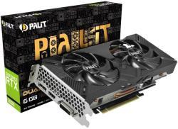 Palit GeForce RTX 2060 DUAL 6GB GDDR6 192bit (NE62060018J9-1160A)
