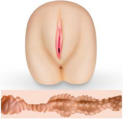 Love Toy Голям реалистичен мастурбатор вагина и дупе Fuck Me