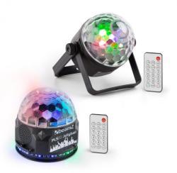 Beamz PLS35, комплект V2, Jellyball, 4 x 3 W LED диоди, PLS15 LED стробоскоп (PL-PLS-v2) (PL-PLS-v2) - electronic-star