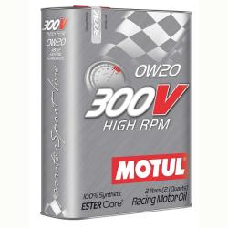 Motul 300V HIGH RPM 0W-20 (2 L)