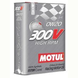 Motul 300V HIGH RPM 0W-20 (2 L)