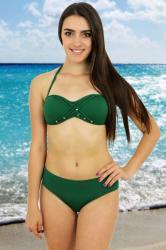 Azulena Costum de baie Rock Star verde