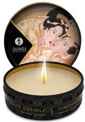 Shunga Масажна свещ с аромат на ванилия - Massage Candle Vanilla 30ml (SHUNGA0119)