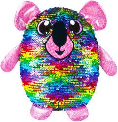 Shimmeez World Simiflitter: szivárvány koala plüss figura - 20 cm
