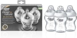 Tommee Tippee Closer to Nature 260ml x3